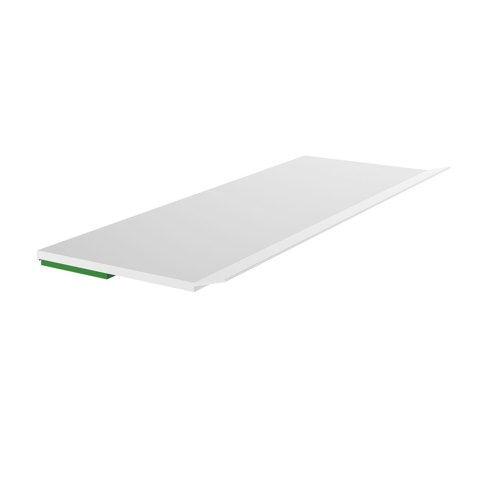 """""""1,18€/m"""" 6m Kunststoffleiste PVC-Leiste mit Lippe Fensterleisten RAL-Weiß 20mm"""