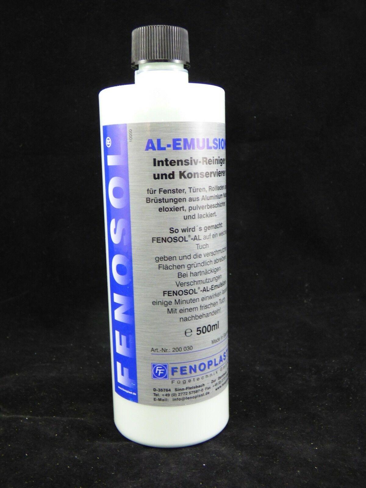 """""""25,40€/l"""" Fenosol AL-Emulsion Aluminium Alu Stahl Spezial Reiniger & Pflege"""