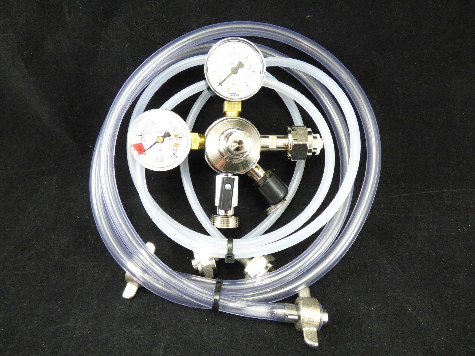 Zapfanlagen Zubehör Manometer Bierschlauch Co2 Schlauch Co2 Druckminderer Einf.