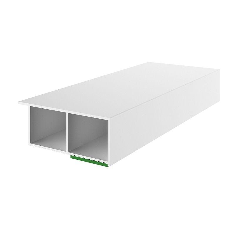 """2,58€/m"" Fenster Leiste Kunststoffleiste PVC 2m lang 30mm Selbstklebend 30/15"