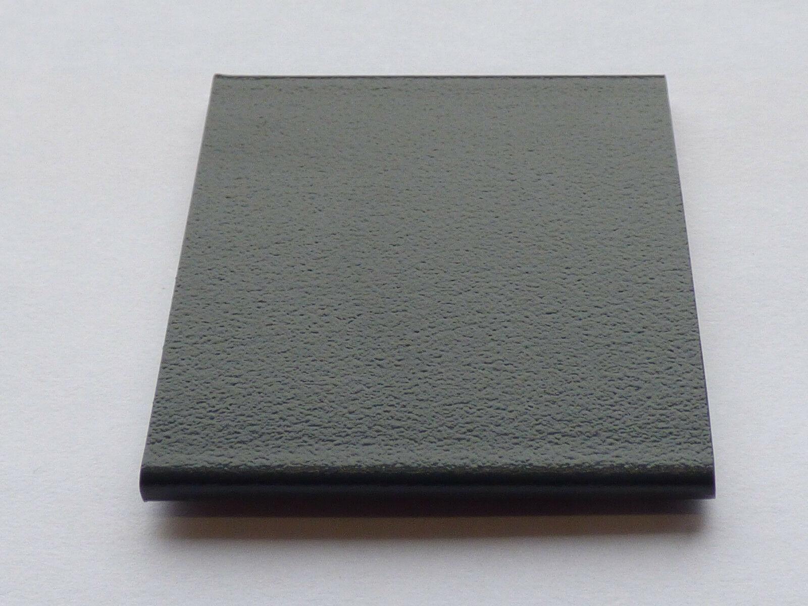 """3,14€/m"" PVC Fenster Flachleiste Fensterleiste Anthrazitgrau 7016 Glatt 40mm o."