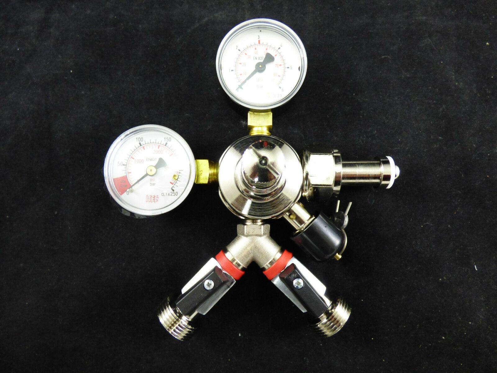 Zapfanlagen Zubehör Manometer Bierschlauch Co2 Schlauch Co2 Druckminderer Dopp.