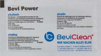 10x Bevi Power Pulver 30g zur chemischen Leitungsreinigung alkalisch