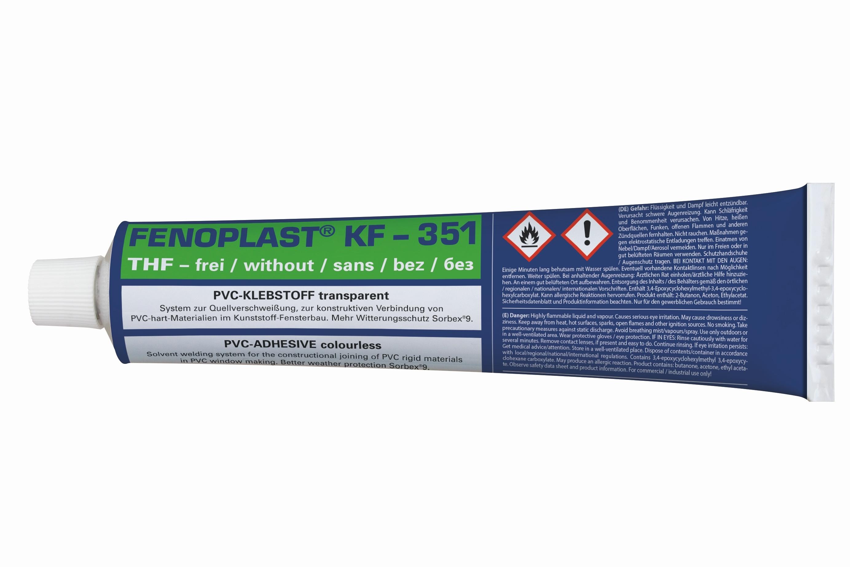 """30,56€/KG"" Fenoplast Quellschweißmittel  PVC-hart  PVC-Kleber Transparent"